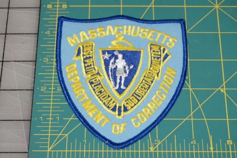 Massachusetts Department Of Correction Patch (998)