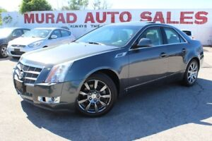 2009 Cadillac CTS !!! 124,000 KMS !!! LEATHER !!!
