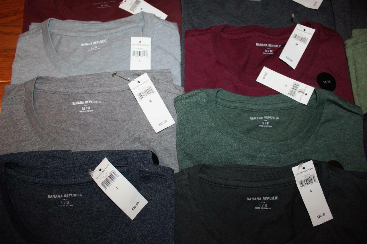 NEW NWT Mens Banana Republic Graphic Logo Elephant Tee T-Shirt 25 Styles Choose