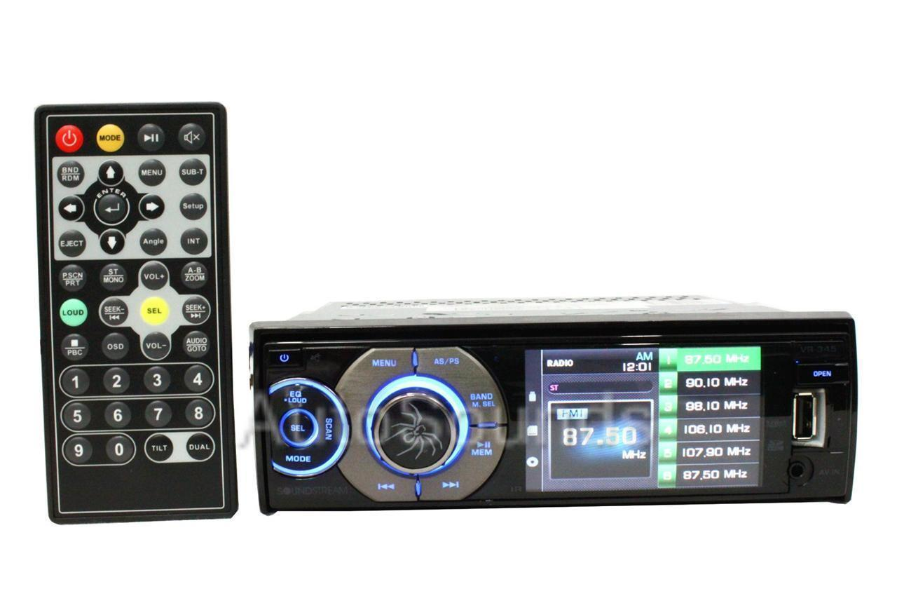 $79.58 - Soundstream VR-345B DVD/CD/MP3 Player 3.4