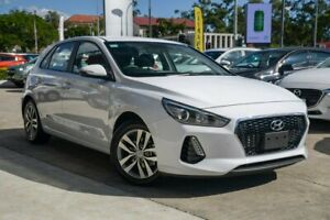 2019 Hyundai i30 PD2 MY20 Active White 6 Speed Sports Automatic Hatchback Nundah Brisbane North East Preview