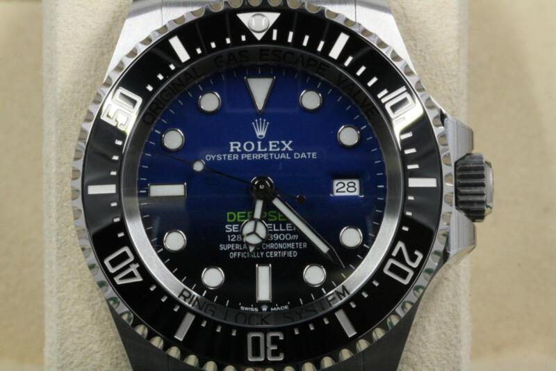 Rolex Deepsea 126660 James Cameron Black & Blue Unused 2018 Model