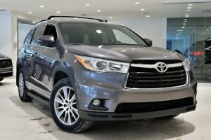 2015 Toyota Highlander XLE AWD LEATHER, ROOF, GPS, WINTER TIRES