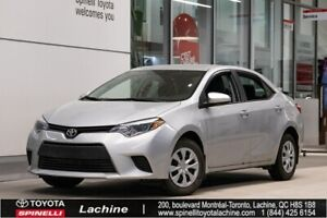 2016 Toyota Corolla CE VERY CLEAN! AIR CONDITIONED! BLUETOOTH! L