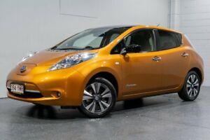 2015 Nissan Leaf ZE0 Gold 1 Speed Automatic Hatchback Woodridge Logan Area Preview