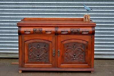 Antique Mahogany Sideboard.Drinks Cabinet.