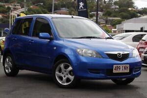 2005 Mazda 2 DY10Y1 Maxx Blue 5 Speed Manual Hatchback