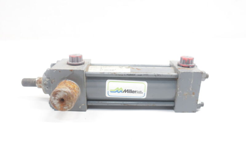 Miller A81B6B Double Acting Pneumatic Cylinder 1-1/2in 250psi 3in
