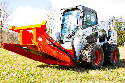 Brush Mower For Skid Steer Loaders Bobcat Machines - For Machines W 32-40 Gpm