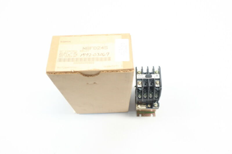 Westinghouse NBFD24S Industrial Control Relay 125/130v-dc