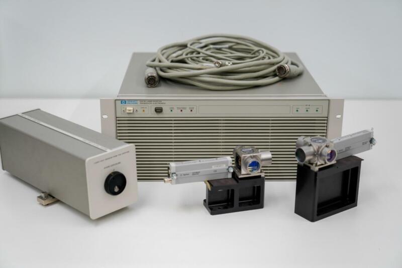 HP 5517C Laser Head, HP 5507B Laser Position Transducer, Agilent 10706B, 10780C