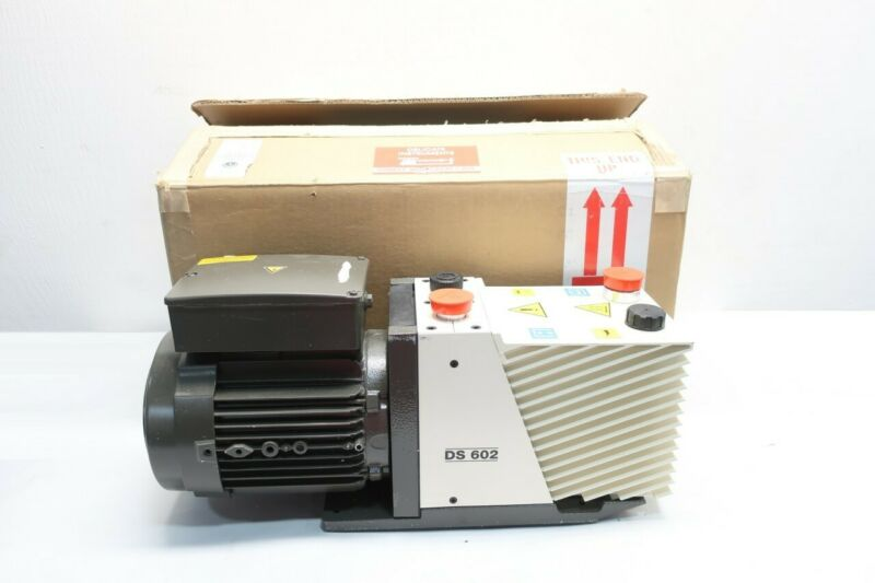 Varian DS 602 DS602 Rotary Vane Vacuum Pump 0.9kw 100-120v-ac