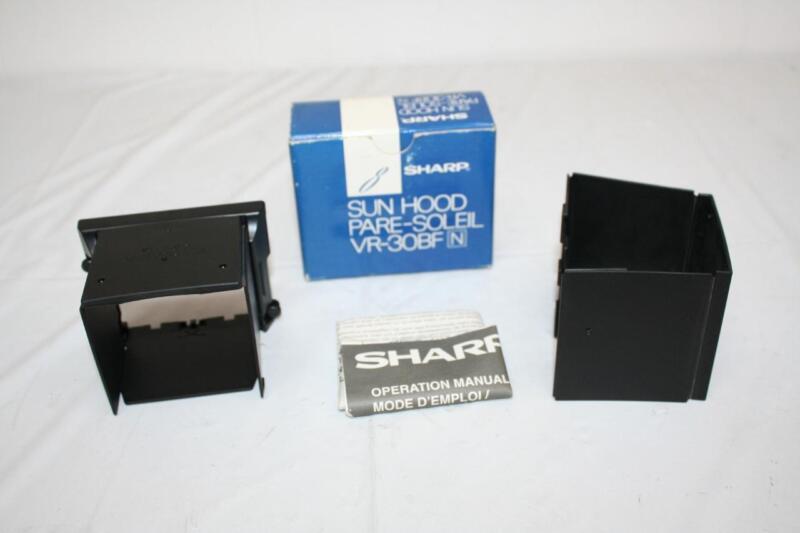Sharp Sun Hood Pare-Soleil VR-30BFN for Viewcam New
