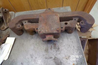 Original Allis Chalmers Wd-wd45 Tractor Engine Exhaust Manifold Ac Wd45-wd