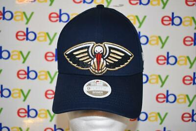 New Orleans Pelicans Womens New Era 9FORTY Glitter Glam Hat Cap Blue NWT New Orleans Womens Cap