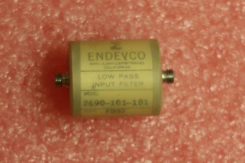 ENDEVCO 2690-101-101 Low Pass Filter 100pF 100Hz