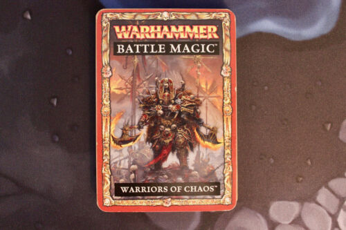 Chaos Battle Magic Cards 8th Edition Complete Warhammer Fantasy
