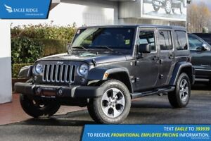 2018 Jeep Wrangler JK Unlimited Sahara Satellite Navigation
