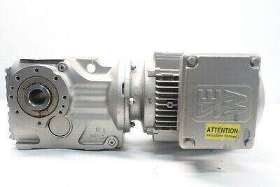 Sew Eurodrive Ka47tdt90l4 Gearmotor 7.6-45rpm 3ph 2hp 230460v-ac