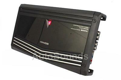 Kenwood Performance Series KAC-8406 900 Watts 4-Channel Class AB Car Amplifier