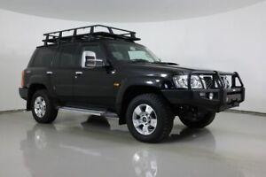 2012 Nissan Patrol GU VII TI (4x4) Black 4 Speed Automatic Wagon