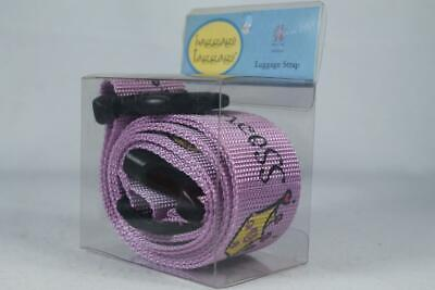 Princess Purple Luggage Taggage Strap #4001000 NEW In Packag