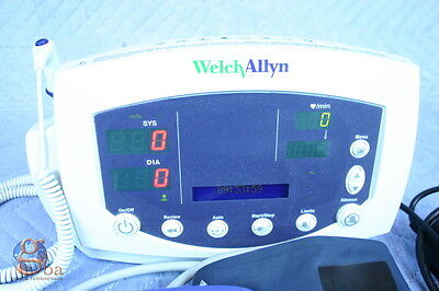 Welch Allyn Protocol 53oto 53000 Patient Monitor Nibp Temp New Battery