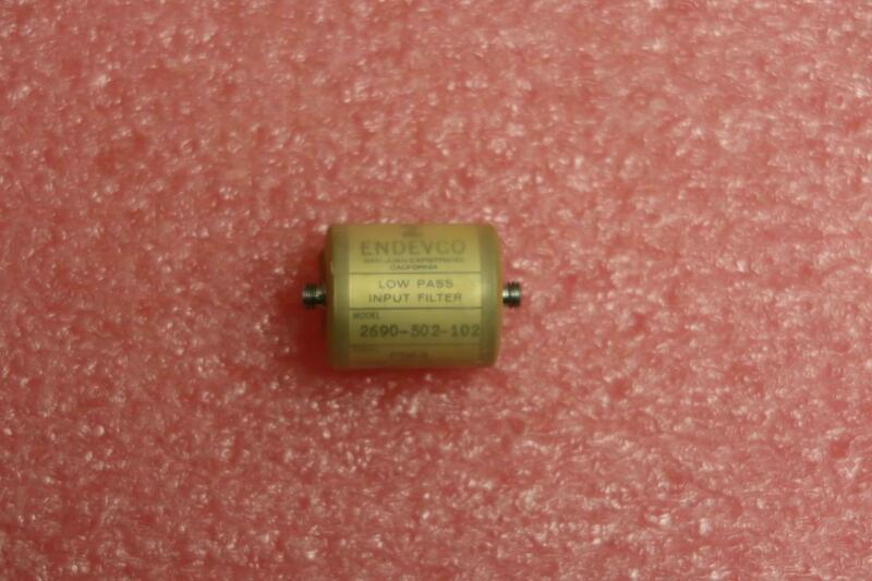 ENDEVCO 2690-502-102 Low Pass Filter 1000pF 5000Hz