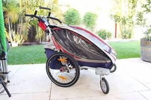 Chariot CX2 Kids Bike Trailer Stroller Jogger Maida Vale Kalamunda Area Preview