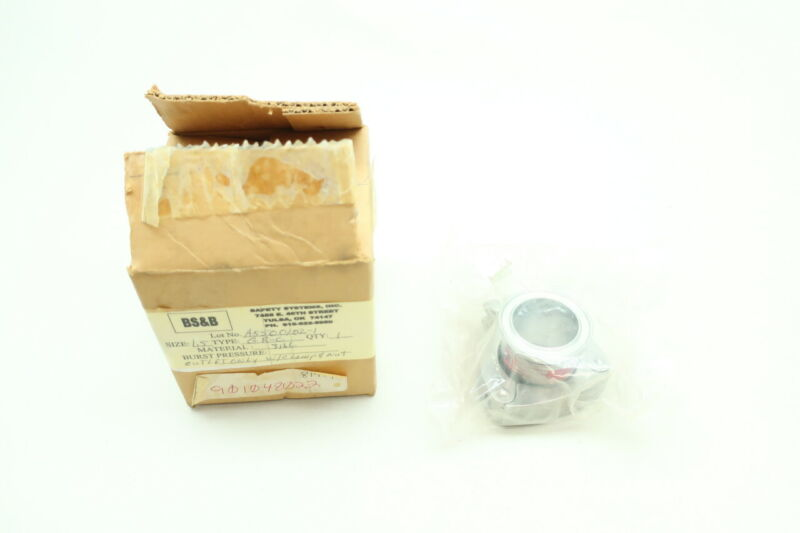 Bs&b Outlet Only W/ Clamp And Nut 1-1/2in