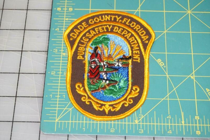DADE County Florida Public Safety Department Patch (10015)