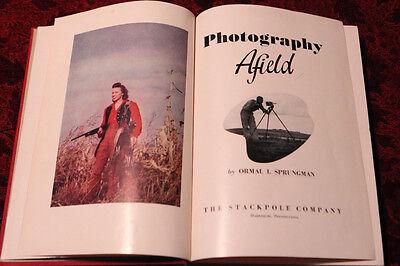 Винтажные книги Photography Afield by Sprungman