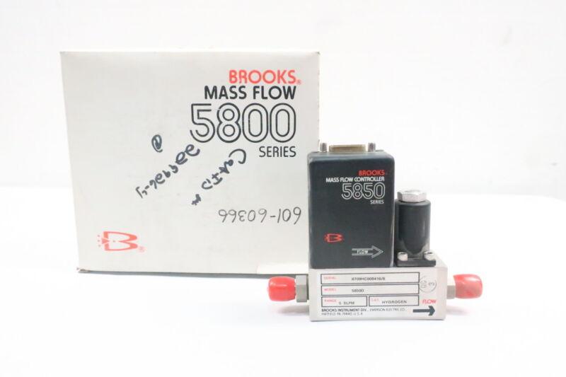 Brooks 5850D 5800 Series Thermal Mass Flow Meter 5slpm