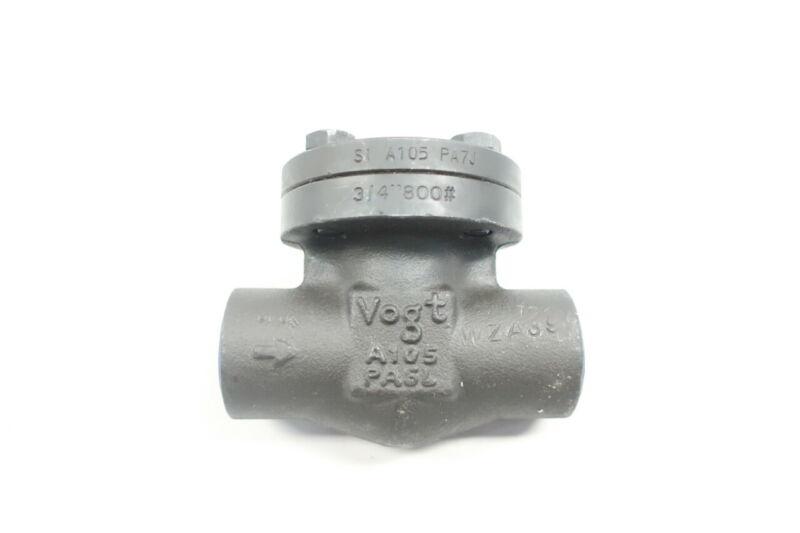 Vogt SW701 Flowserve Steel Socket Weld Check Valve 3/4in