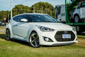 2014 Hyundai Veloster FS3 SR Coupe Turbo White 6 Speed Sports Automatic Hatchback Wangara Wanneroo Area Preview
