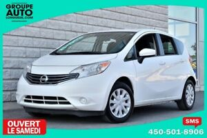 2015 Nissan Versa Note *SV*BLANCHE*A/C*CAMERA*BLUETOOTH*