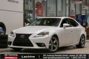 2016 Lexus IS 350 AWD FULLY EQUIPPED! AWD! GPS! BACK UP CAMERA!