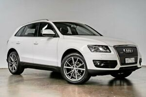 2010 Audi Q5 8R MY11 TDI S Tronic Quattro White 7 Speed Sports Automatic Dual Clutch Wagon South Melbourne Port Phillip Preview