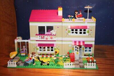 LEGO FRIENDS Olivia's House & Garden Complete 2012 Girls 3 Mini-Figures