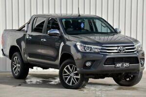2017 Toyota Hilux GUN126R SR5 Grey Sports Automatic Utility
