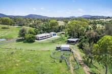 26 fertile acres with 4 bedroom home, 3 sheds and permanent creek Gympie Gympie Area Preview