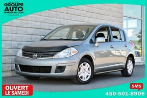 2010 Nissan Versa *HATCHBACK*A/C*SILVER*GROUPE ELECTRIQIE*