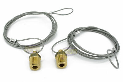Two 14 Air Compressor Tank Moisture Pull Drain Valve Brass Quality Made In Usa
