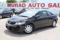 2009 Honda Civic Cpe !!! 167,000 KMS !!! MANUAL !!! Oshawa / Durham Region Toronto (GTA) Preview
