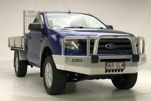 2012 Ford Ranger PX XL Hi-Rider Blue 6 Speed Sports Automatic Cab Chassis