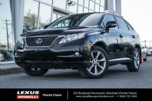 2010 Lexus RX 350 GROUPE SPORT, AWD, NAVIGATION, HEAD-UP DISPLAY