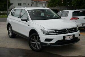 2020 Volkswagen Tiguan 5N MY21 110TSI Comfortline DSG 2WD Allspace White 6 Speed Kedron Brisbane North East Preview