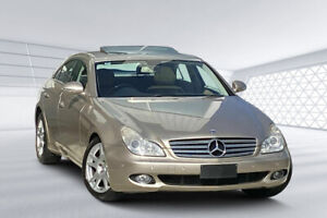 2007 Mercedes-Benz CLS350 219 Travertine Beige 7 Speed Automatic G-Tronic Coupe