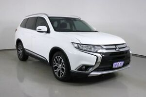 2016 Mitsubishi Outlander ZK MY17 LS Safety Pack (4x4) 7 Seats White 6 Speed Automatic Wagon