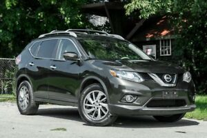 2014 Nissan Rogue SL AWD | LEATHER| ROOF| NAVI| BACKUP CAMERA